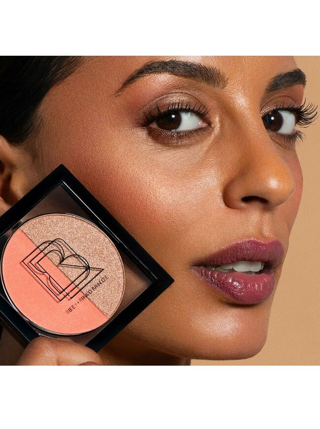 COLOR+GLOW Duo Blush+Highlighter with Probiotics