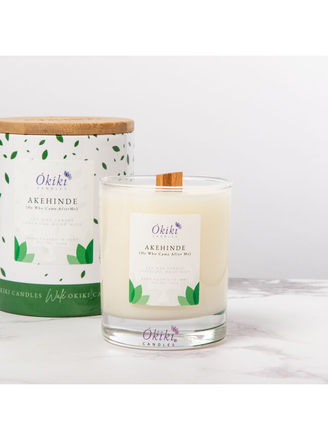 Akehinde (He Who Came After Me) Candle